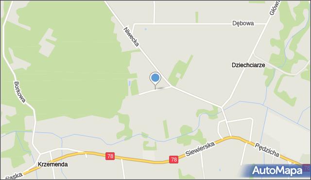 Poręba powiat zawierciański, Piaskowa, mapa Poręba powiat zawierciański
