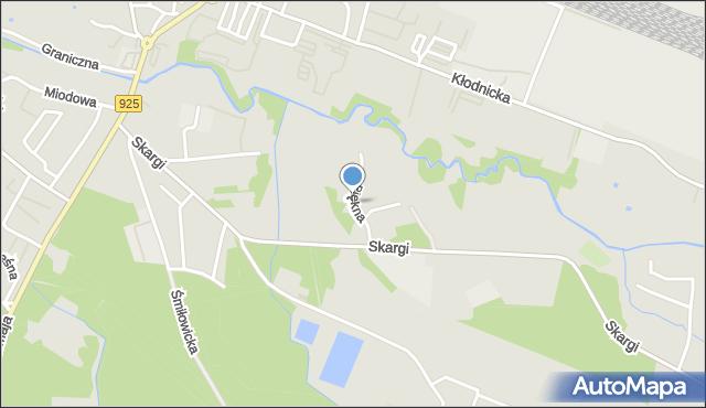 Ruda Śląska, Piękna, mapa Rudy Śląskiej