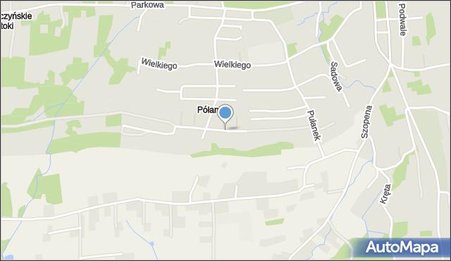 Tyczyn powiat rzeszowski, Pileckich, mapa Tyczyn powiat rzeszowski