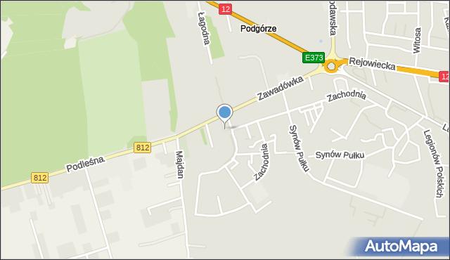 Chełm, Plac Jana Pawła II, mapa Chełma