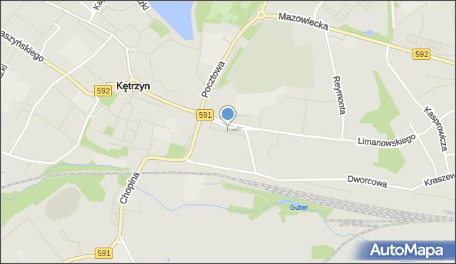 Kętrzyn, Plac Słowiański, mapa Kętrzyn