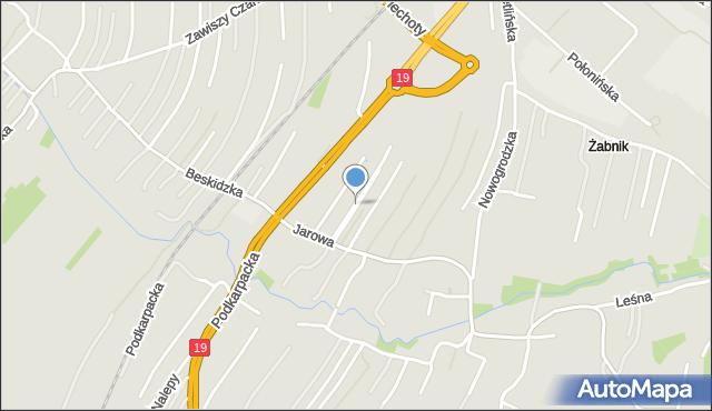 Rzeszów, Plac św. Józefa, mapa Rzeszów