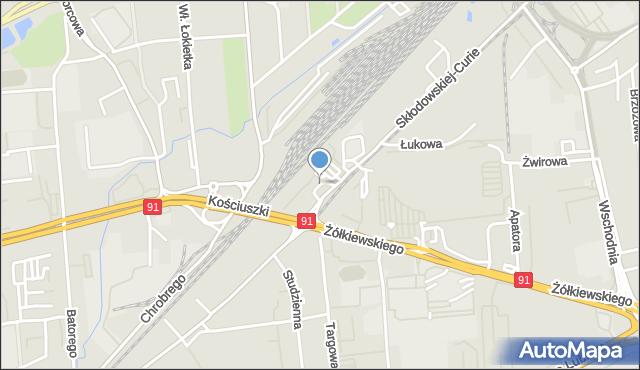 Toruń, Plac Skarbka Fryderyka, mapa Torunia