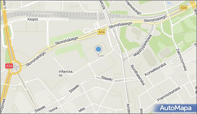 Warszawa, Plac Szczepaniaka Władysława, mapa Warszawy