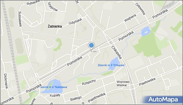 Gdańsk, Pomorska, mapa Gdańska