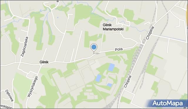 Gorlice, Pola Wincentego, mapa Gorlic