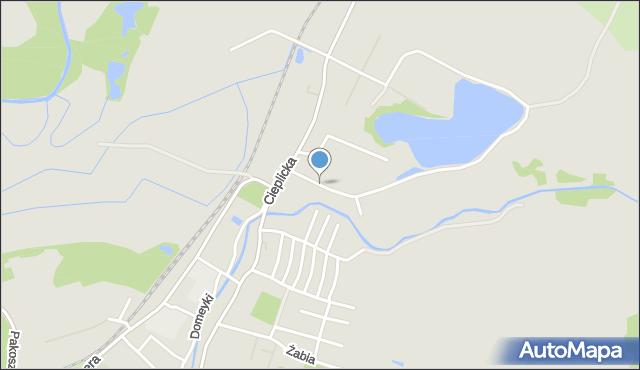 Jelenia Góra, Polna, mapa Jelenia Góra