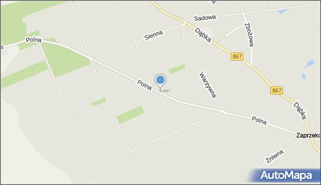 Lubaczów, Polna, mapa Lubaczów