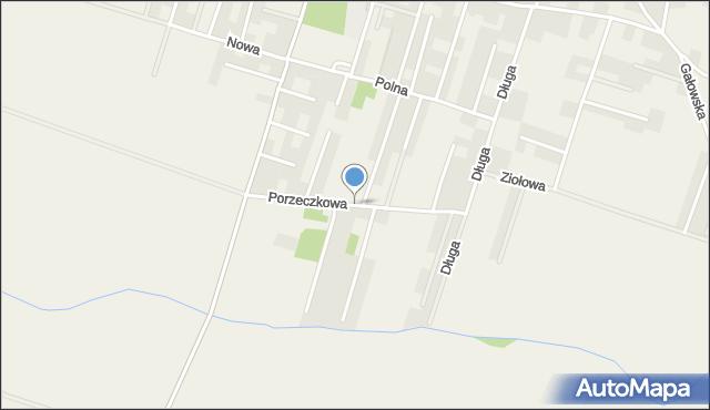 Lutynia gmina Miękinia, Porzeczkowa, mapa Lutynia gmina Miękinia