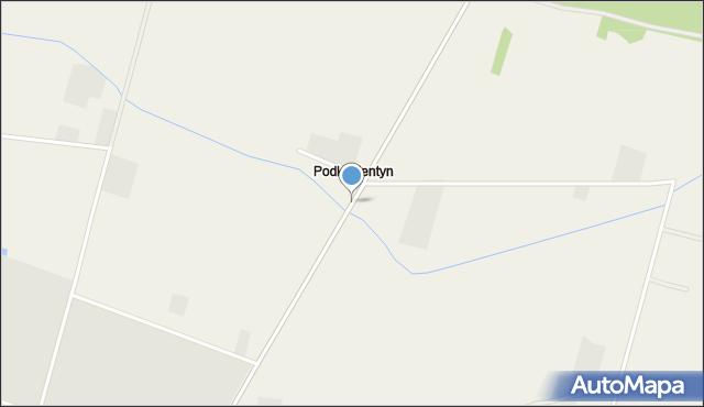 Podkupientyn, Podkupientyn, mapa Podkupientyn