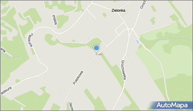 Przemyśl, Potokowa, mapa Przemyśla