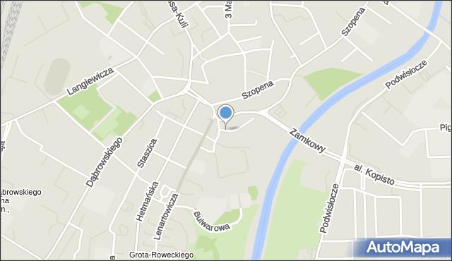 Rzeszów, Podpromie, mapa Rzeszów