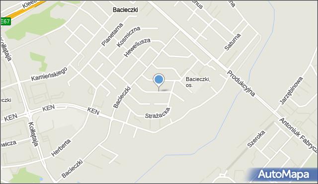 Białystok, Przerwy-Tetmajera Kazimierza, mapa Białegostoku