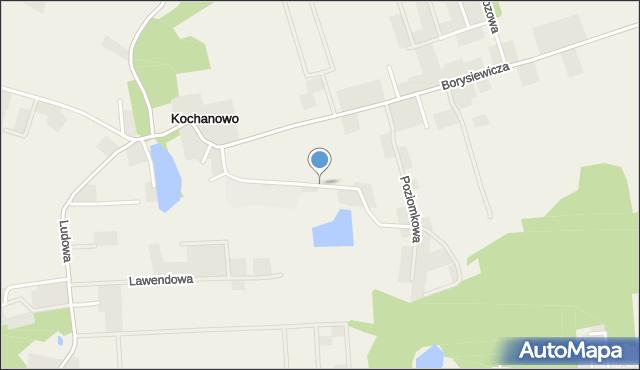 Kochanowo gmina Luzino, Przemysłowa, mapa Kochanowo gmina Luzino