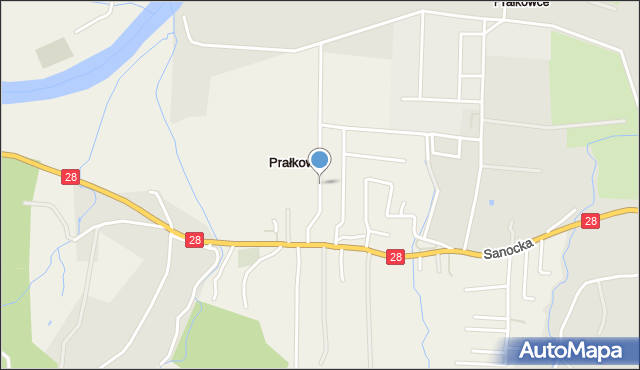 Prałkowce, Prałkowce, mapa Prałkowce