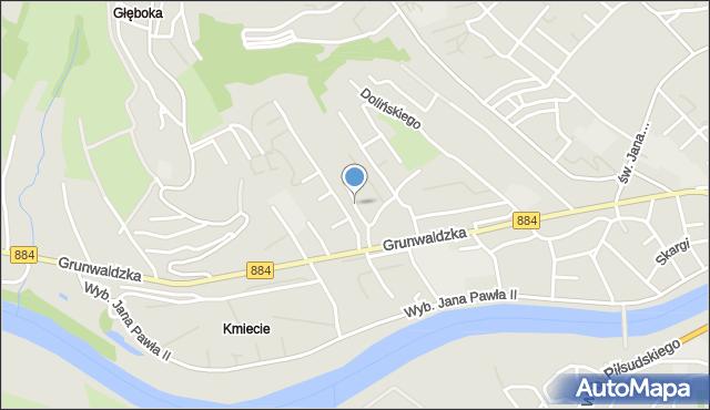 Przemyśl, Przybyszewskiego Stanisława, mapa Przemyśla