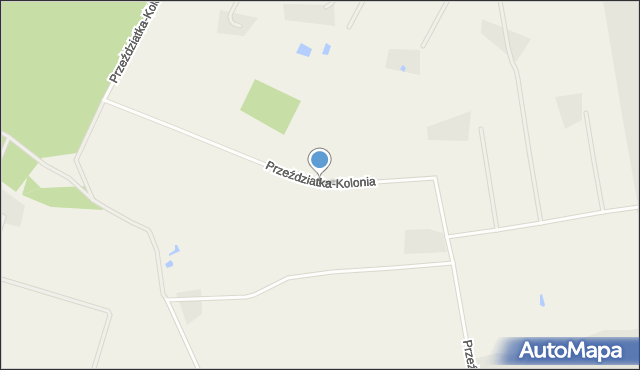 Przeździatka-Kolonia, Przeździatka-Kolonia, mapa Przeździatka-Kolonia