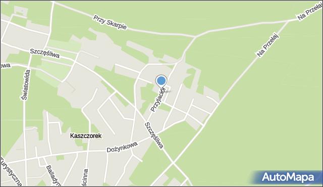 Toruń, Przyjaciół, mapa Torunia