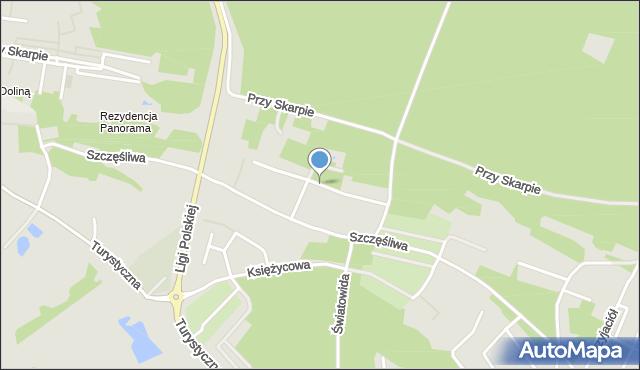 Toruń, Przyjemna, mapa Torunia