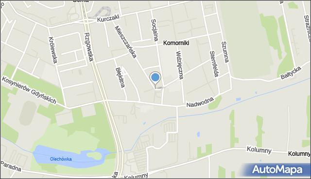 Łódź, Racławicka, mapa Łodzi