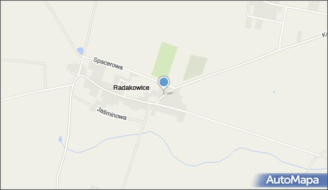 Radakowice, Radakowice, mapa Radakowice