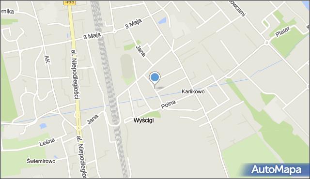Sopot, Racławicka, mapa Sopotu