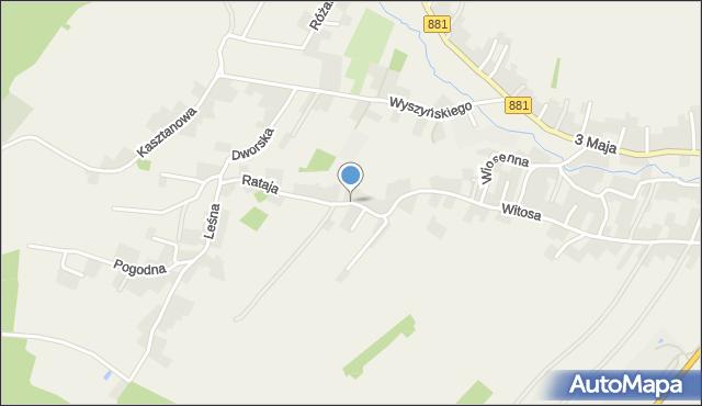 Żurawica powiat przemyski, Rataja Macieja, mapa Żurawica powiat przemyski