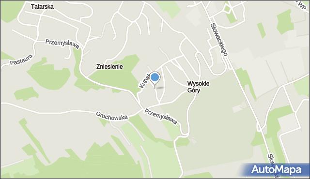 Przemyśl, Regera Witolda, mapa Przemyśla
