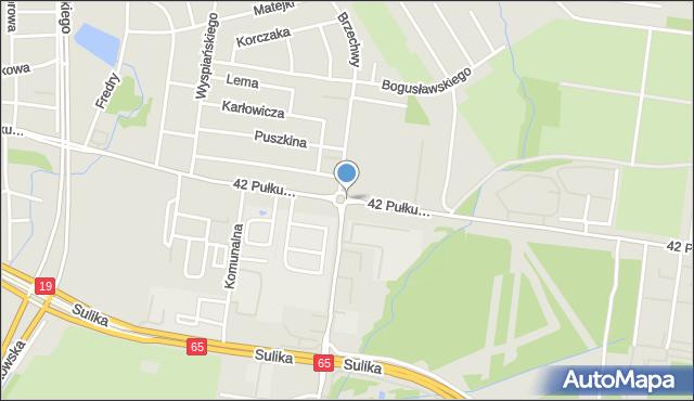 Białystok, Rondo Tarasiewicza Jana, mapa Białegostoku