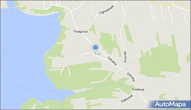 Dobczyce, Rolnicza, mapa Dobczyce