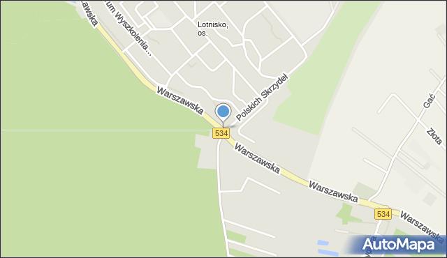 Grudziądz, Rondo Skalskiego Stanisława, gen., mapa Grudziądza