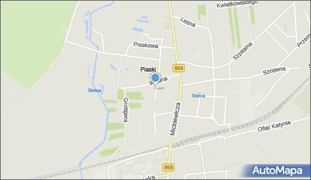 Lubaczów, Rolna, mapa Lubaczów