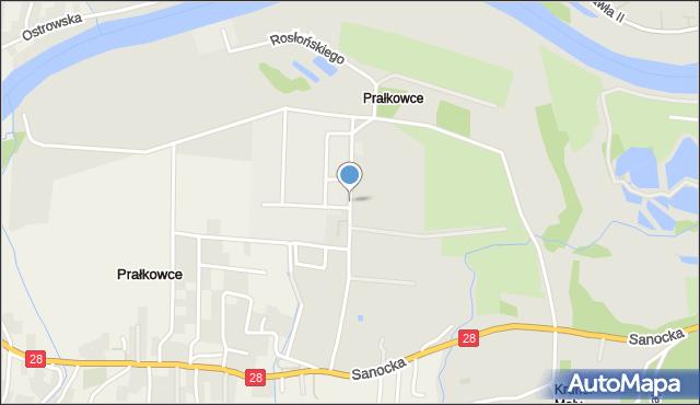 Przemyśl, Rosłońskiego Romualda, mapa Przemyśla