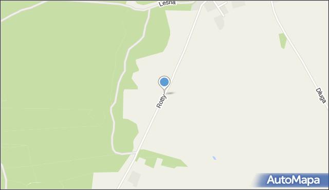 Tępcz, Rotty, ks., mapa Tępcz
