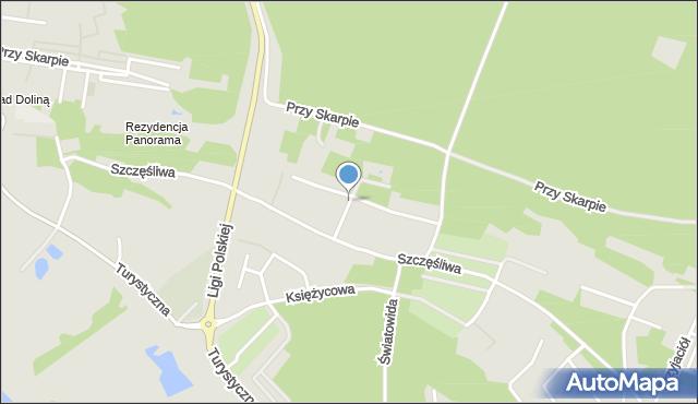 Toruń, Rodzinna, mapa Torunia