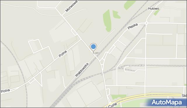Toruń, Równinna, mapa Torunia