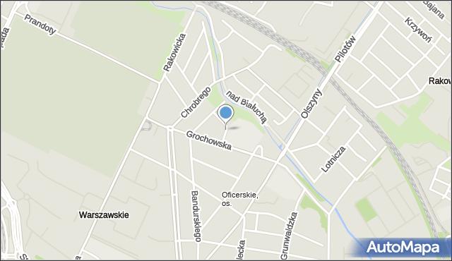 Kraków, Rusałek, mapa Krakowa