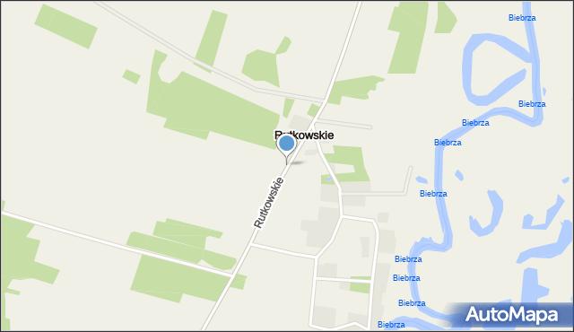 Rutkowskie, Rutkowskie, mapa Rutkowskie