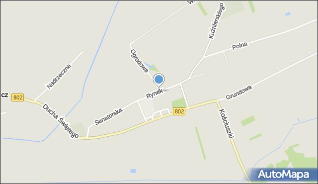 Latowicz, Rynek, mapa Latowicz