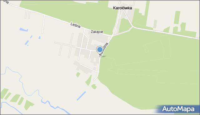 Młodów gmina Lubaczów, Rzeczna, mapa Młodów gmina Lubaczów