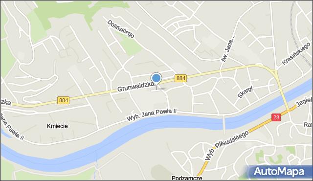 Przemyśl, Rzewuskiego Henryka, mapa Przemyśla