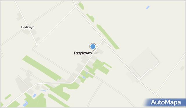 Rządkowo, Rządkowo, mapa Rządkowo