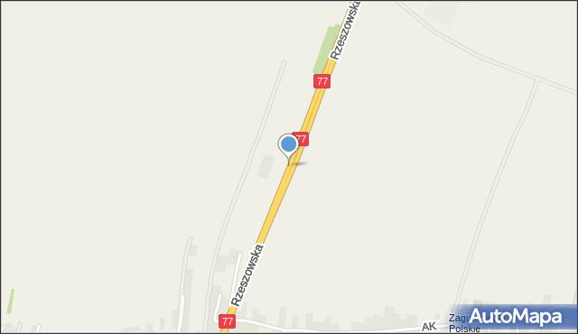 Żurawica powiat przemyski, Rzeszowska, mapa Żurawica powiat przemyski