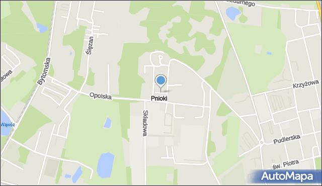 Chorzów, Samarzewskiego Wojciecha, mapa Chorzów