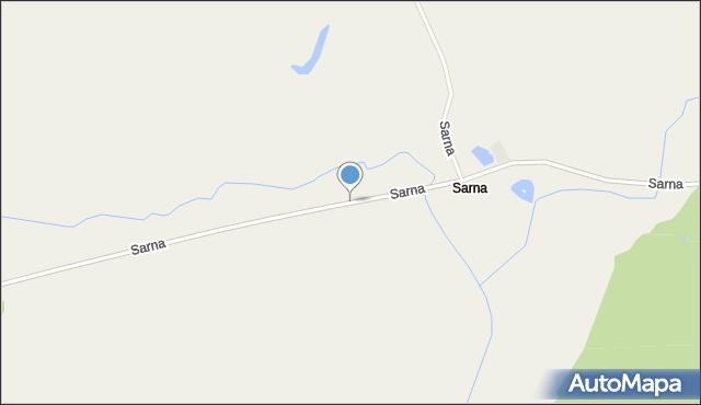 Sarna, Sarna, mapa Sarna