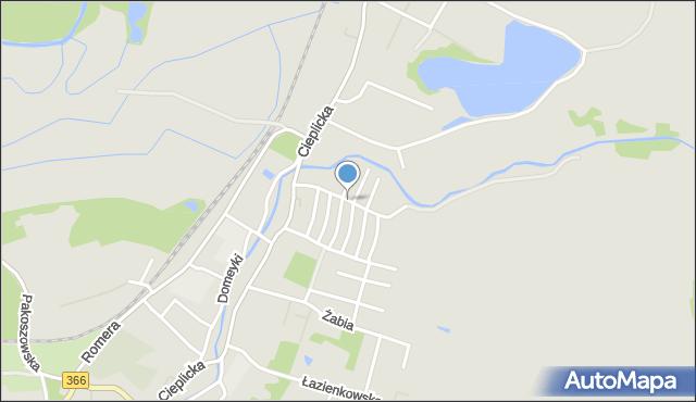 Jelenia Góra, Sienkiewicza Henryka, mapa Jelenia Góra