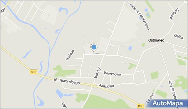 Lubaczów, Sieniawskiego A. M., hetm., mapa Lubaczów