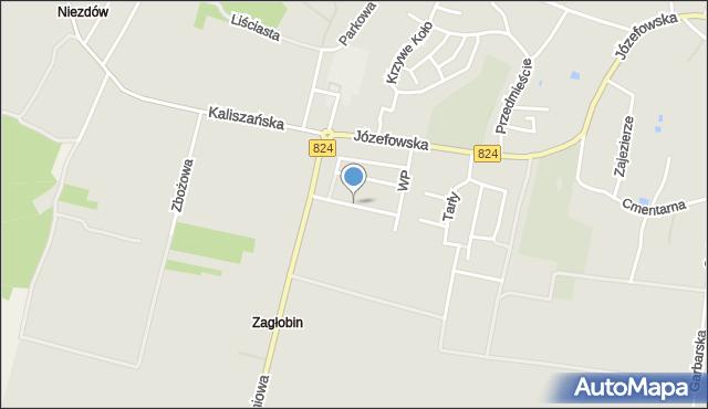 Opole Lubelskie, Sikorskiego Władysława, gen., mapa Opole Lubelskie