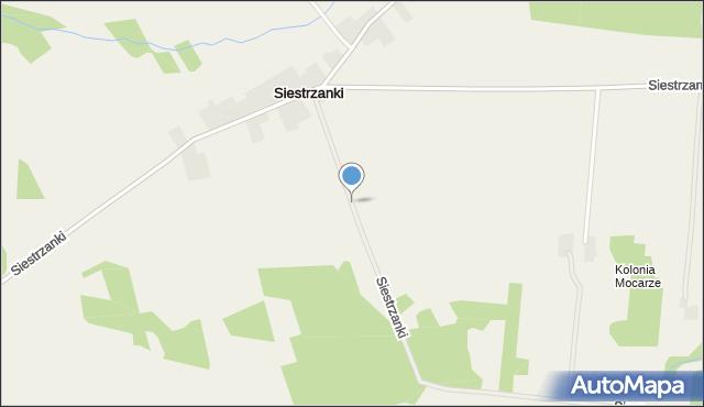 Siestrzanki, Siestrzanki, mapa Siestrzanki