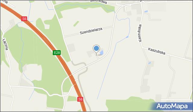 Sychowo, Siedzikówny Danuty, mapa Sychowo